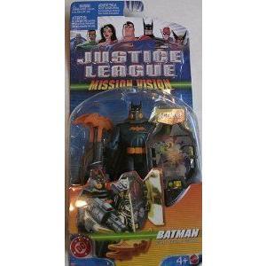 Justice League Mission Vision: Batman (バットマン) フィギュア