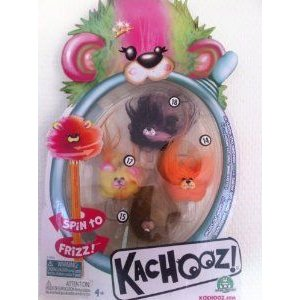 Kachooz 4-Pack Style 3 ドール 人形 フィギュア