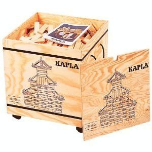 Kapla 1000 Piece Wooden Building Set (#KP1000) ブロック おもちゃ