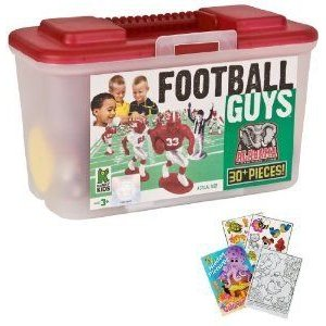 Kaskey Kids 5218 NCAA Football Guys Alabama with Field and Coloring Book