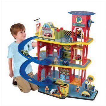 KidKraft Deluxe Garage Set [Toy] Kid Kraft NoPart: 17481 ミニカー ミニチュア 模型 プレイセット自動
