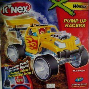 K'NEX (ケネックス) PUMP UP RACERS-Mud Bogger ブロック おもちゃ