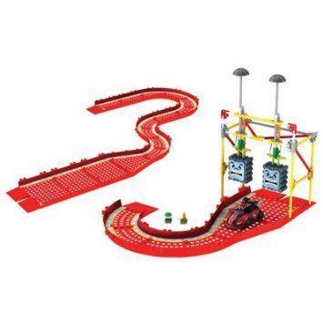 K'nex Mario Kart (マリオカート) Wii Mario vs Thwomps Building Set and Track Expansion Pack (38464)