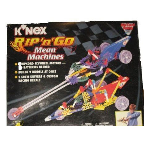 K'nex Rip and Go Mean Machines ブロック おもちゃ