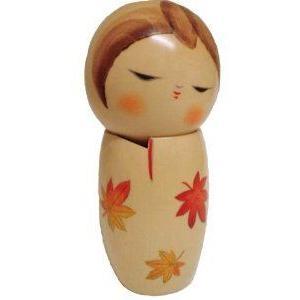 Large Wooden Kokeshi Doll #C198 ドール 人形 フィギュア