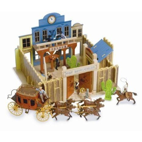 Le Toy Van Fort Rattlesnake Set