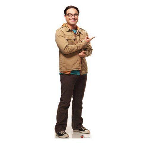 Leonard- Big Bang Theory Stand-Up フィギュア ダイキャスト 人形