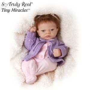 Linda Webb Emmy's Loving Eyes Baby Doll From Tiny Miracles by Ashton Drake ドール 人形 フィギュア