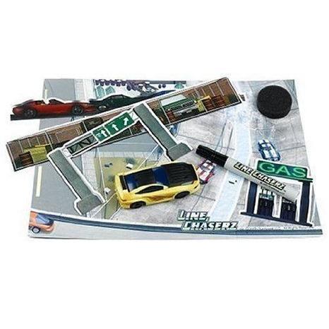 Line Chaserz Street ミニカー ミニチュア 模型 プレイセット自動車 ダイキャスト