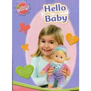 Little Darlings ** Hello Baby ** Peek-a-boo Doll ** Doll Moves** Light Activated ドール 人形 フィ