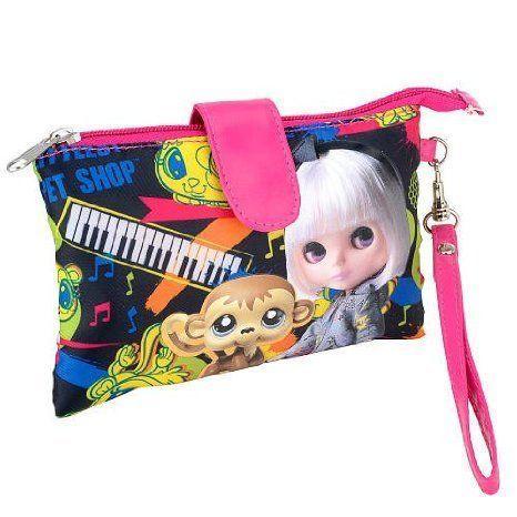 Littlest Pet Shop (リトルペットショップ) Blythe (ブライス) 'Rock and Roll' Wristlet - 黒
