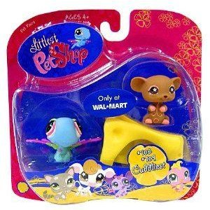 Littlest Pet Shop (リトルペットショップ) Cuddliest Dragonfly and Mouse w/ Cheese #708 #709