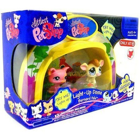 Littlest Pet Shop (リトルペットショップ) Exclusive Playset Light Up Dome Barnyard Pals