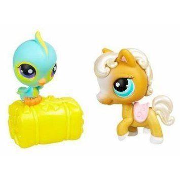 Littlest Pet Shop (リトルペットショップ) Pet Pairs: Bird & Horse