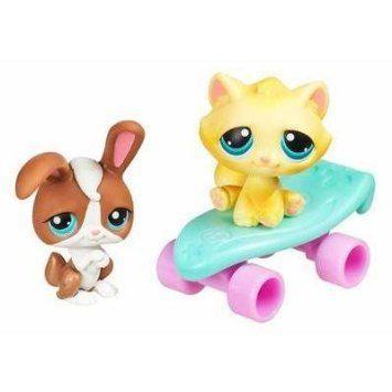 Littlest Pet Shop (リトルペットショップ) Pet Pairs: Bunny & Cat