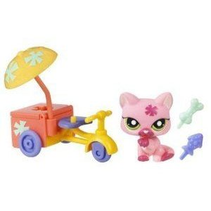 Littlest Pet Shop (リトルペットショップ) Pets On The Go Cat With Tricycle #1846