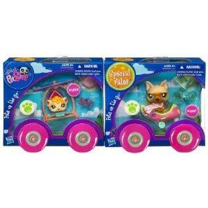 Littlest Pet Shop (リトルペットショップ) Pets On The Go Special Value Pack (Guinea Pig and Dog)