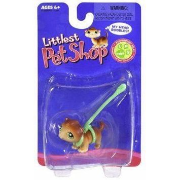 Littlest Pet Shop (リトルペットショップ) Single Pack Ferret #289 with 緑 Leash