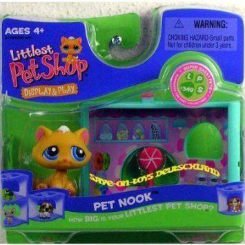 Littlest Pet shop Nook - 黄 Kitten