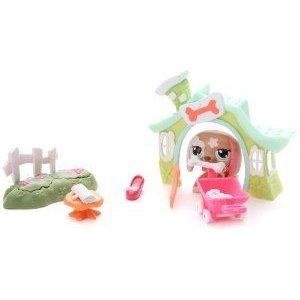 LITTLEST PET SHOP Walkables - Dog Pet Set フィギュア おもちゃ 人形