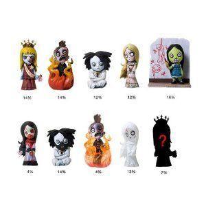 Living Dead Dolls(リビングデッド) - Series 3 Collectable Figurines - 2/5cm - Random Blind Box ド