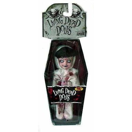Living Dead Dolls(リビングデッド) FX 2003 Exclusive Mini Blood Splatte赤 Mini Eggzorcist ドール