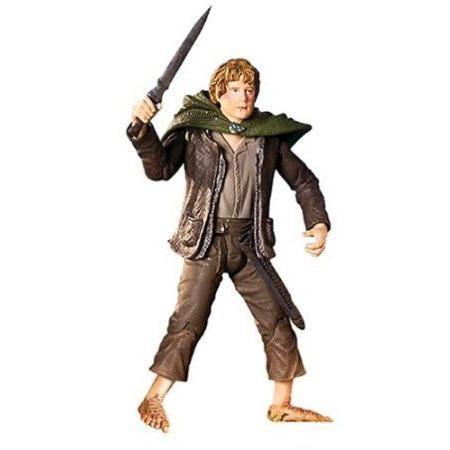 Lord Of The Rings ROTK Samwise Gamgee 8 Poseable アクションフィギュア (2004 ToyBiz) ドール 人形 フ