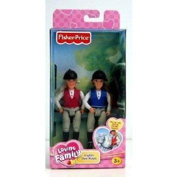 Loving Family Dollhouse (ドールハウス) English Riders Haley & Jacob ドール 人形 フィギュア
