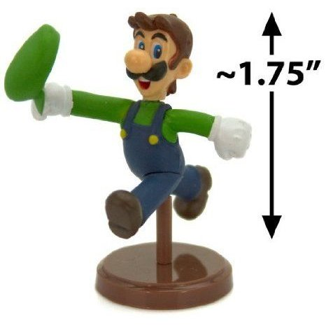 Luigi ~1.75 Mini フィギュア [Super Mario (スーパーマリオ) Choco Egg Mini-フィギュア Selection Seri