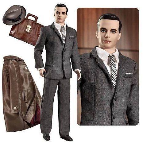 Mad Men Don Draper Barbie(バービー) Doll ドール 人形 フィギュア