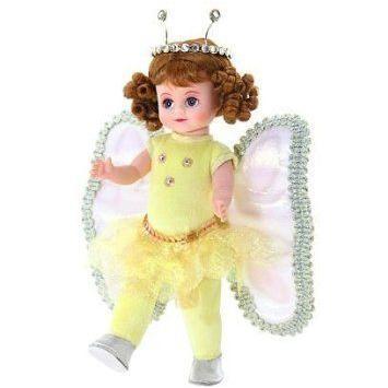 Madame Alexander (マダムアレクサンダー) 8 黄 Butterfly Princess Doll, #25680 ドール 人形 フィ
