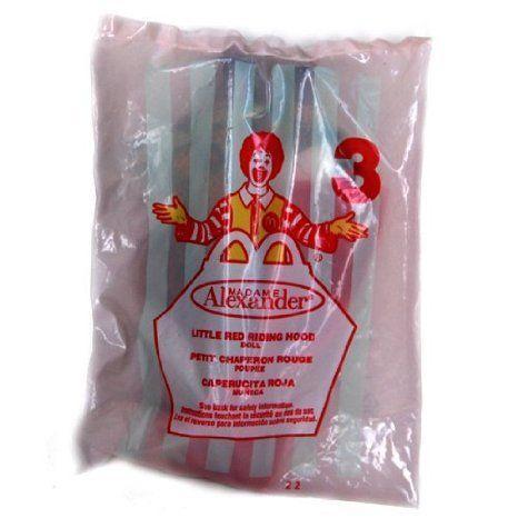 Madame Alexander (マダムアレクサンダー) Doll - Little 赤 Riding Hood - McDonald's (マクドナルド)