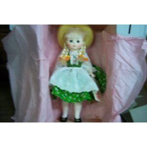 Madame Alexander (マダムアレクサンダー) Doll Heidi 12'inch Doll #1580 ドール 人形 フィギュア