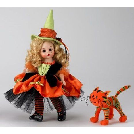Madame Alexander, Witchy Wendy and her Quirky Cat, Special Occasions Collection, Halloween Collect