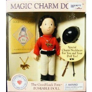 Madeline- Eden Magic Charm Doll (Reti赤) 1999 the Good Luck Pony ドール 人形 フィギュア