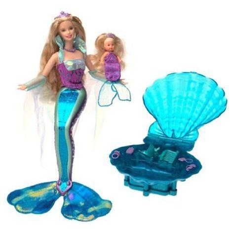 Magical Mermaid Barbie(バービー) & Krissy Doll ドール 人形 フィギュア