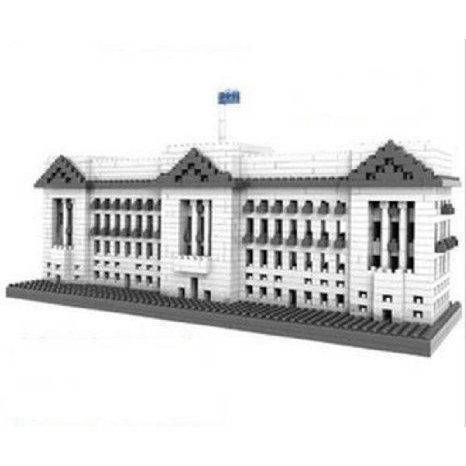 Magnificent Architecture Buckingham Palace Blocks Building Puzzle 1540 ピース Xmas Gift ブロック