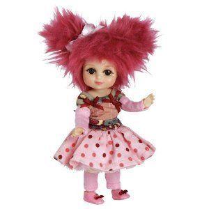 Marie Osmond Doll 6 Standing Ruella Raspberry Bitty Belle Mop Top ドール 人形 フィギュア