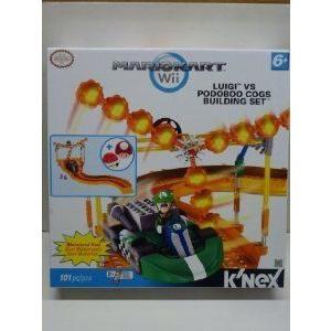 Mario Kart (マリオカート) Wii KNEX Exclusive Building Set #38438 Luigi vs. Podoboo Cogs ブロック