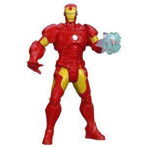 Marvel (マーブル) Mighty Battlers Arc Strike Iron Man (アイアンマン) フィギュア 人形 フィギュア お