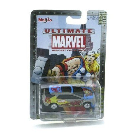 Marvel (マーブル) Ultimate Die Cast Collection Series 1: The Mighty Thor Cadillac Vizon Die Cast C