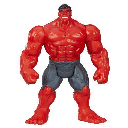 Marvel マーブル Mighty Battlers 赤 Hulk Rage Figure フィギュア ダイキャスト 人形