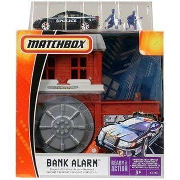 Matchbox (マッチボックス) Bank Alarm Adventure プレイセット ミニカー ミニチュア 模型 プレイセット