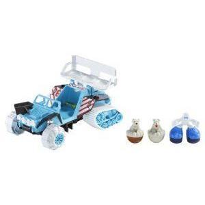 Matchbox (マッチボックス) Big Boots Snow Buggy Squad Vehicle ミニカー ミニチュア 模型 プレイセット
