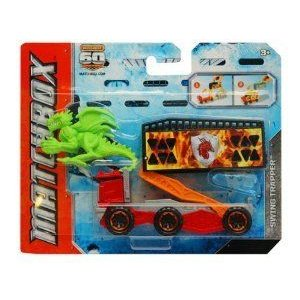 Matchbox (マッチボックス) Catch the Creature Swing Trapper ミニカー ミニチュア 模型 プレイセット自