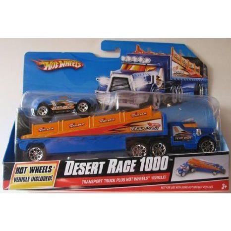 Mattel (マテル) Hot Wheels (ホットウィール) Desert Race 1000 Transport トラック Plus Hot Wheels (