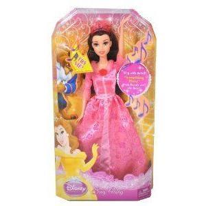 Mattel (マテル社) Disney (ディズニー)Princess Sing Along Series 12 Inch Doll - Belle from Beauty a