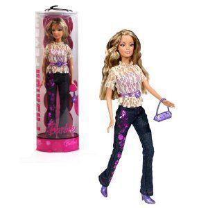 Mattel (マテル社) Year 2006 Barbie(バービー) FASHION FEVER Series 12 Inch Doll - Barbie(バービー)