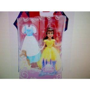 MATTEL DISNEY PRINCESS Little Kingdom BELLE Doll With Dress 3.5 Tall Doll ドール 人形 フィギュア