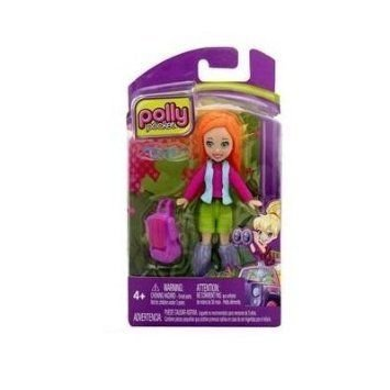 Mattel-Polly Pocket Lea Doll Colorful Outfits & Accessories ドール 人形 フィギュア